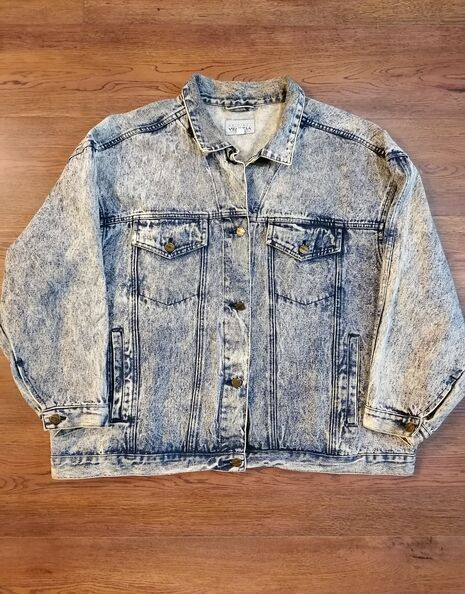 ACID WASH JACKET